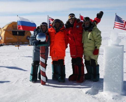 Expedición Antártica 90ºS