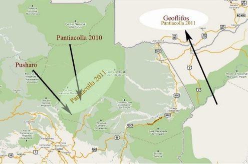 Expedición Pantiacolla 2011