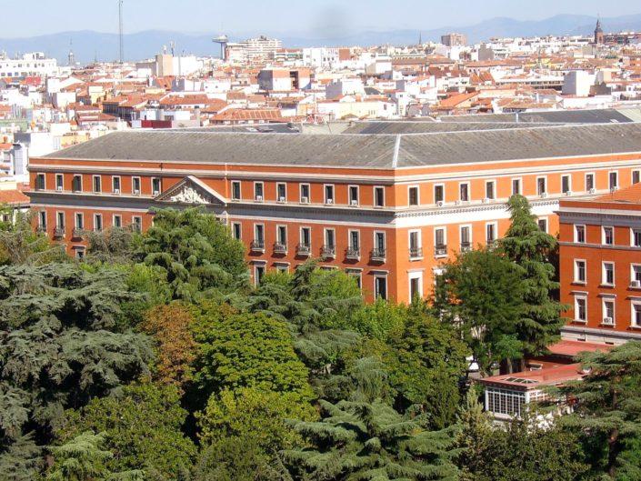 Palacio de Buenavista, actual Cuartel General del Ejército de Tierra